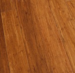 carbonised strand woven bamboo flooring
